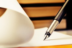 Writing on Paper - Payroll Services